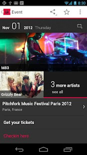 Gigbeat - Concerts - screenshot thumbnail
