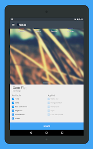 Gem Flat CM12 Theme v3.0.7