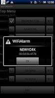 Screenshot of Wireless LAN Wi-Fi Train Alarm