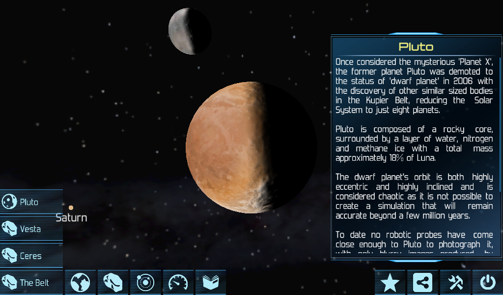 Solar System Explorer 3D - screenshot