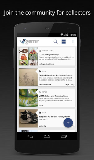 Gemr – A Collector's Community