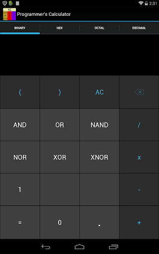 Programmer's Calculator - Plus