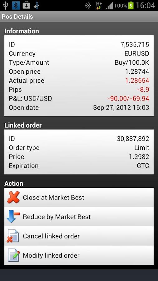 Advanced Trader - screenshot