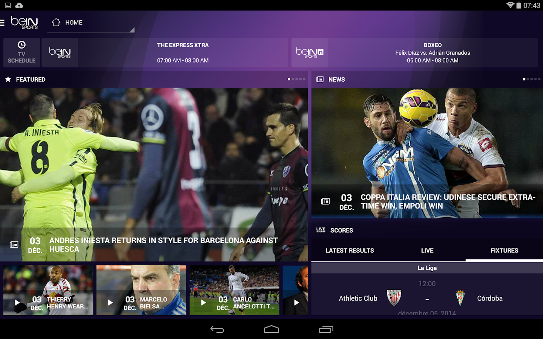 beIN SPORTS - screenshot