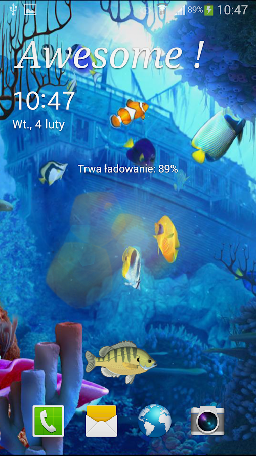 Ocean Live Wallpaper - screenshot