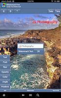 Screenshot of iWatermark