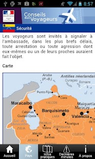 Conseils aux voyageurs - screenshot thumbnail