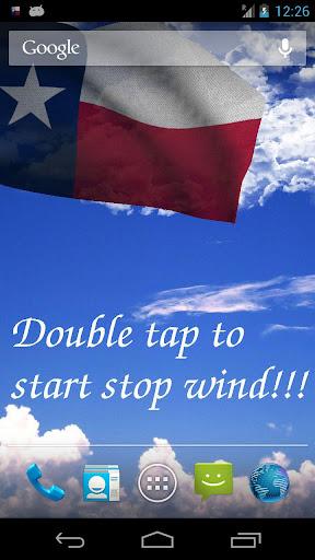 Texas Flag Live Wallpaper