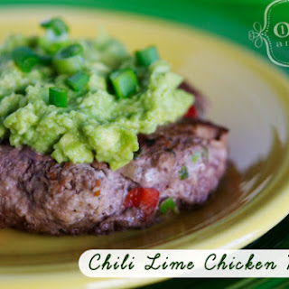 Copycat Trader Joe's Chili Lime Chicken Burgers.