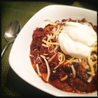 Beefy Beer Chili.