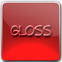 Red Gloss Theme icon