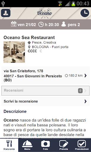 Oceano Sea Restaurant