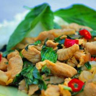 Thai Basil Stir-Fry (Gaprao Moo Kai Daao)