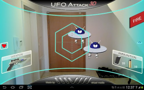 UFO Attack 3D Live LITE - screenshot thumbnail