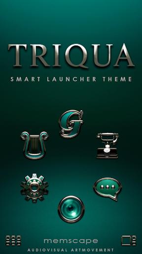 Smart Launcher Theme TRIQUA