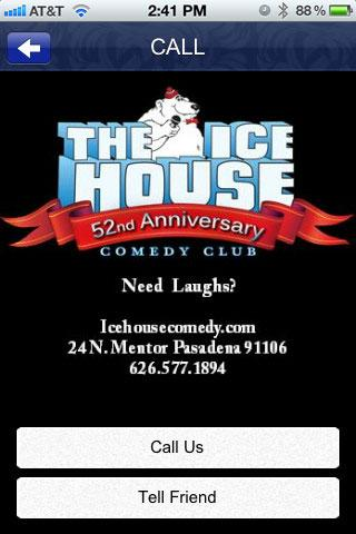 ICE HOUSE COMEDY CLUB- screenshot