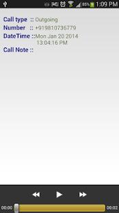 Save My Call 2.0 screenshot