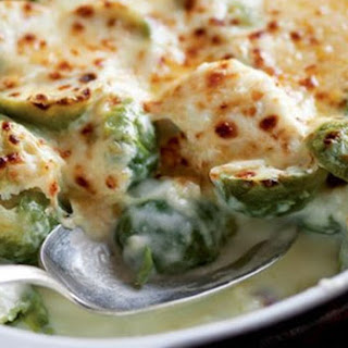 Brussels Sprouts Gratin.