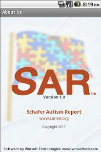 Schafer Autism Report - screenshot thumbnail