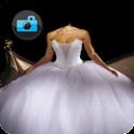 Robes de Bride. Photo montage icon