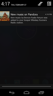 Pandora® internet radio - screenshot thumbnail