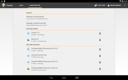 Flashify (for root users) Screenshot 11