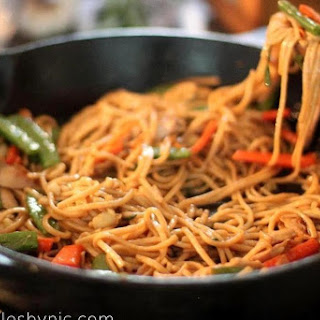 Lo Mein Is Back (More Veggies & Healthier)