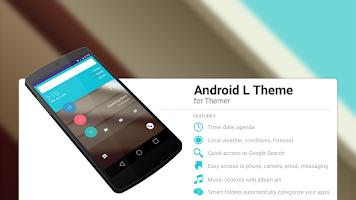 Screenshot of L Theme