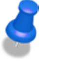 GPS point saver(カーナビ機能付き) logo