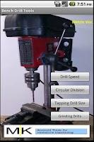 Screenshot of Drill Tool Metric