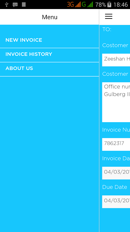 Free Invoice Maker- screenshot