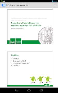 AnDoc - PDF & DJVU Reader v3.0.1 (Pro)