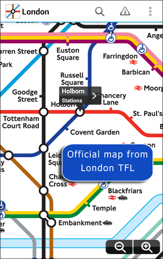 Tube Map London Underground- screenshot