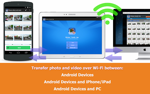Wireless Transfer App - Free