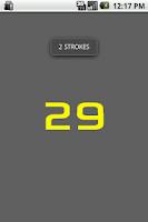 Screenshot of Stroke Rate Counter