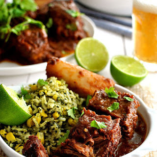 Fiery Fall Apart Mexican Beef Ribs.
