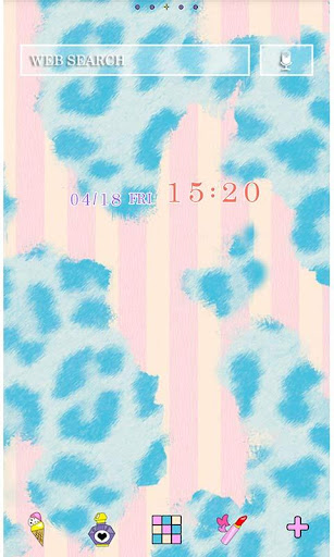 Cute Theme-Blue Leopard- 1.1 Windows u7528 1