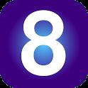 8 Launcher icon