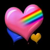 Valentine Heart Balloons Dlx!