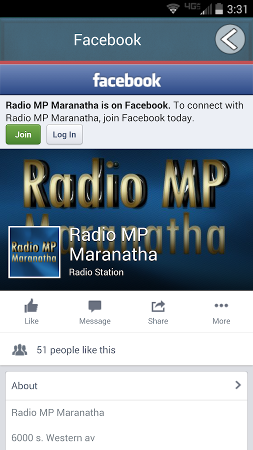 Radio MP Maranatha- screenshot
