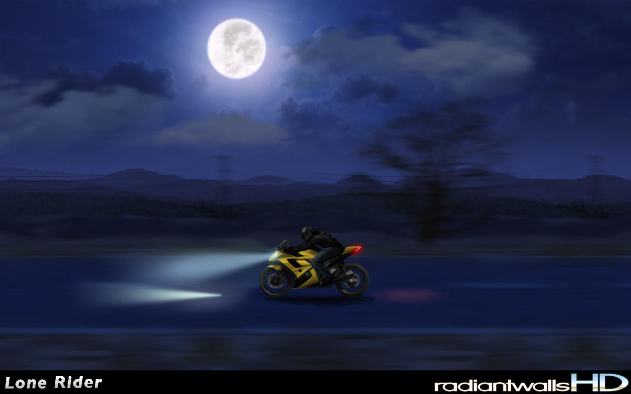 RadiantWalls HD - Lone Rider- screenshot
