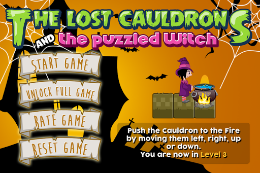 Lost Cauldrons Puzzled Witch