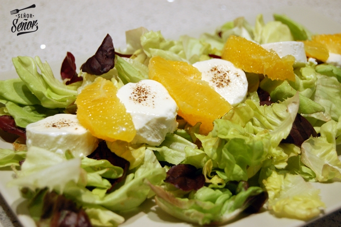 Orange and Goat Cheese Salad Recipe