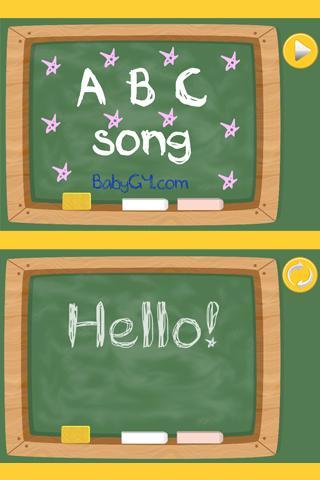 ABC alphabet. Сhildren's song