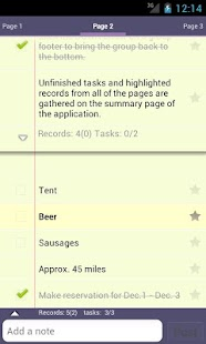 Silt - memo, todo & task lists - screenshot thumbnail