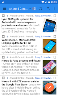 gReader | Feedly | News | RSS- miniatura screenshot