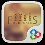 Four Jokers GO Launcher Theme v1.0