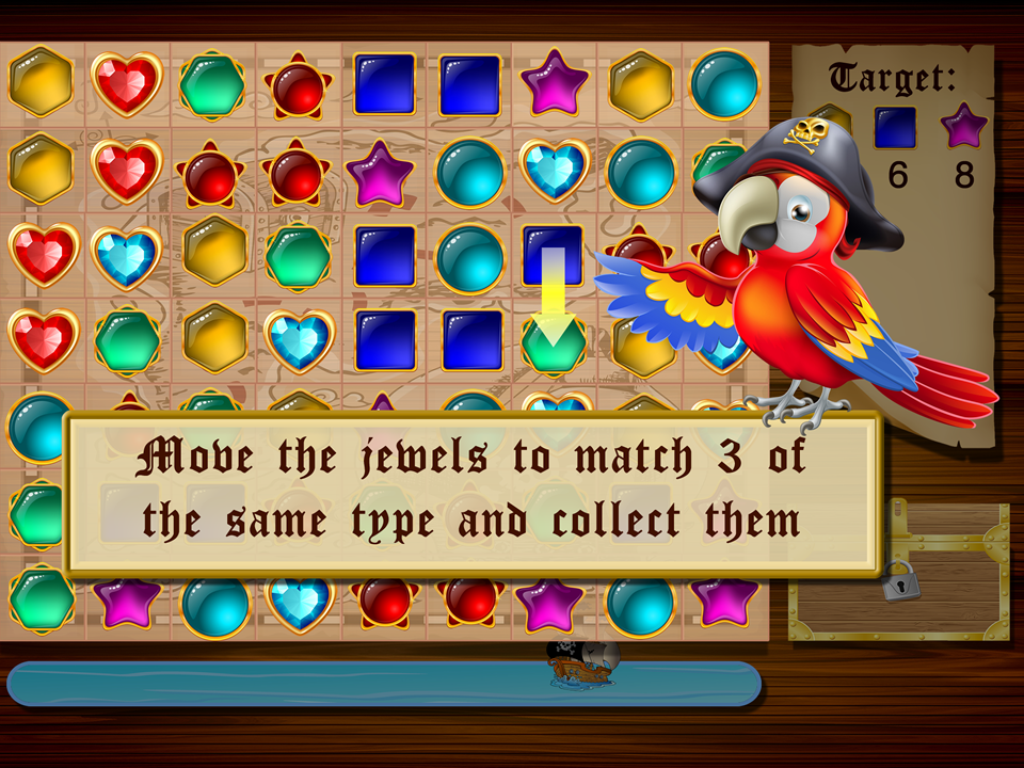 Jewel Tides - Match 3 Puzzle - screenshot