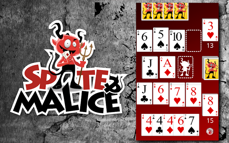 Spite and Malice Screenshot