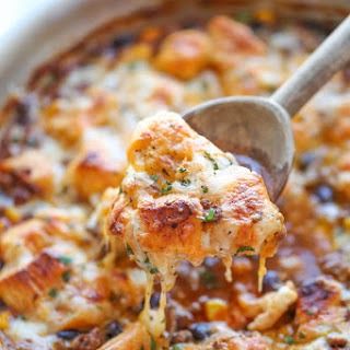 One Pan Enchilada Bake